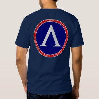 Leonidas I camisas rojas, blancas y azules del