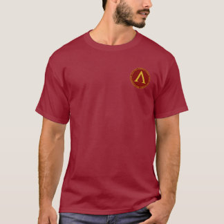 Leonidas I Maroon & Gold Seal Shirt