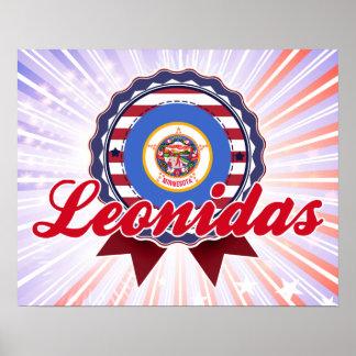 Leonidas manganeso poster