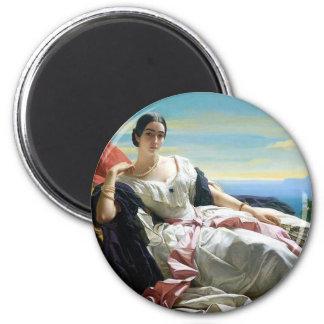 Leonilla Princess of Sayn Wittgenstein Sayn 2 Inch Round Magnet