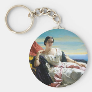 Leonilla Princess of Sayn Wittgenstein Sayn Basic Round Button Keychain