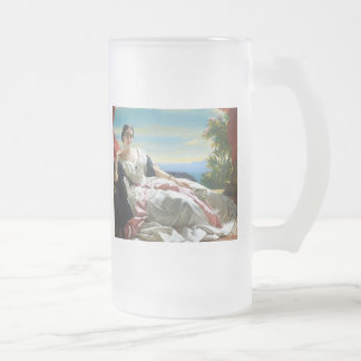Leonilla Princess of Sayn Wittgenstein Sayn Frosted Glass Beer Mug