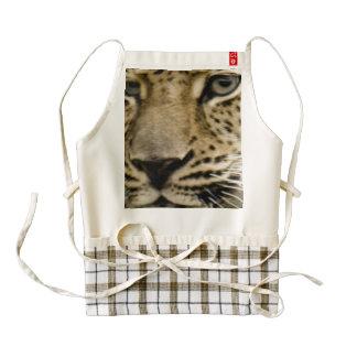 leopard-15 delantal zazzle HEART
