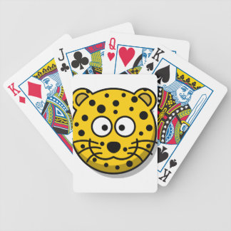 leopard-30877 bicycle playing cards