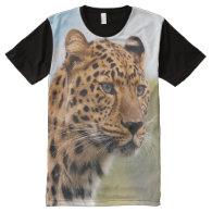 Leopard 3 All-Over print t-shirt