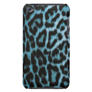 Leopard Animal Blue Black Pattern Print Case-Mate iPod Touch Case