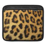 Leopard Animal Fur Print Texture Pattern Sleeve For iPads