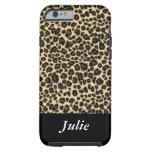 Leopard Animal Monogrammed Case iPhone 6 Case
