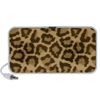 Leopard Animal Print Brown Speaker
