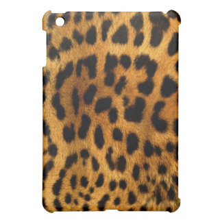 Leopard Animal print furry  iPad Case
