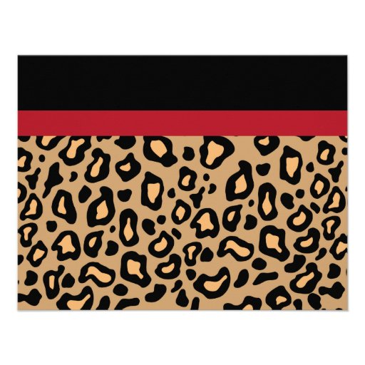 Cheetah Party Invitations for luxury invitations sample