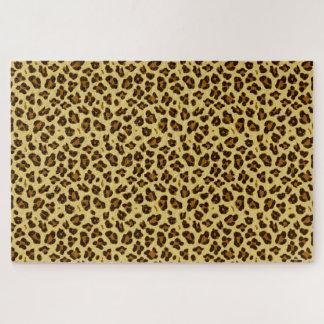 Leopard Animal Print Pattern Puzzle