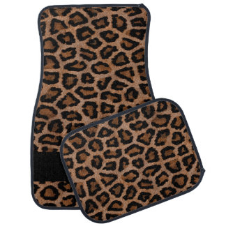 Leopard Animal Print | Personalize Car Floor Mat