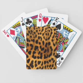 Leopard Animal Print Playing Cards