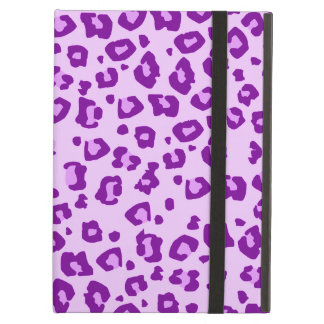 Leopard animal print purple ipad powis case iPad air cover