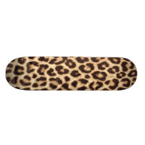 Leopard / Animal Print Skateboard