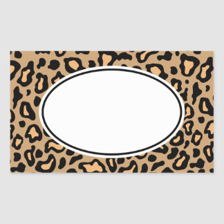 Leopard Animal Print Stickers