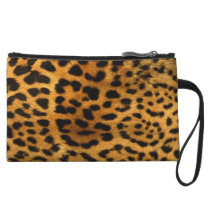Leopard Animal Print Wristlet