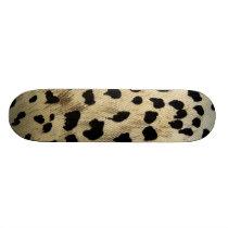 Leopard Animal Wildlife print skateboard deck art
