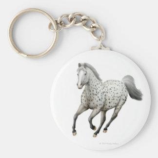 Leopard Appaloosa Horse Keychain