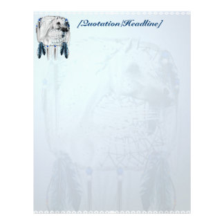 Leopard Appy and Dreamcatcher Letterhead