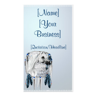 Leopard Appy and Dreamcatcher profile cards, [N... Double-Sided Standard Business Cards (Pack Of 100)