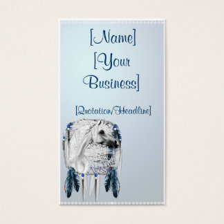 Leopard Appy and Dreamcatcher profile cards, [N... Business Card