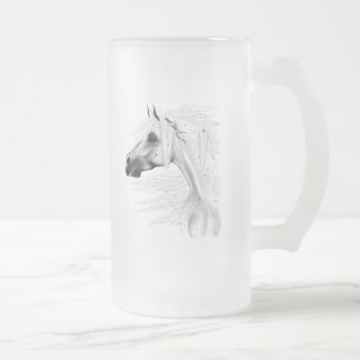 Leopard Appy and White Feathers Mug