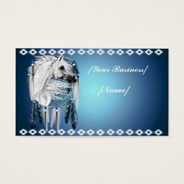 Professional Business Leopard Appy Dream Catcher Business Card
