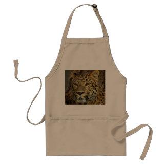 Leopard Adult Apron
