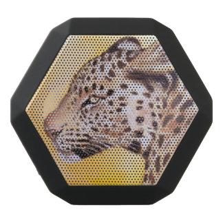 Leopard Art Black Bluetooth Speaker