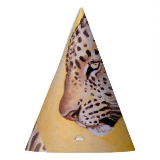 Leopard Art Party Hat