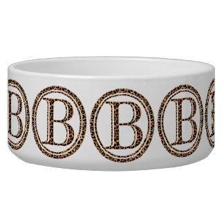 leopard B Bowl
