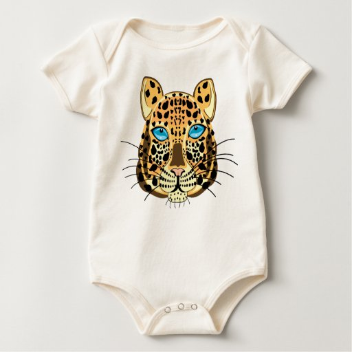 Leopard Baby Bodysuits