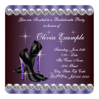 Leopard Bachelorette Party Card