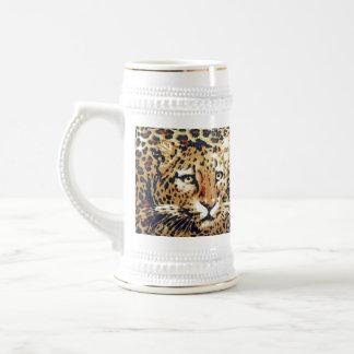 Leopard Beer Stein