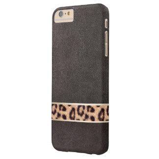 Leopard Belt Faux Leather iPhone 6 Plus Case