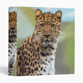 Leopard Vinyl Binder
