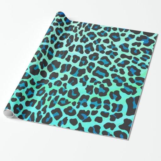 leopard print tissue paper