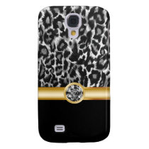Leopard Bling Galaxy S4 Case
