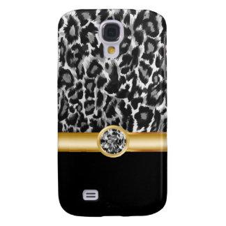 Leopard Bling Galaxy S4 Case
