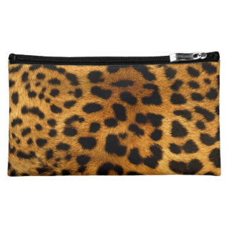Leopard Body Fur Skin Case Cover Makeup Bags