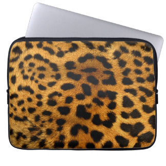 Leopard Body Fur Skin Case Cover Computer Sleeves