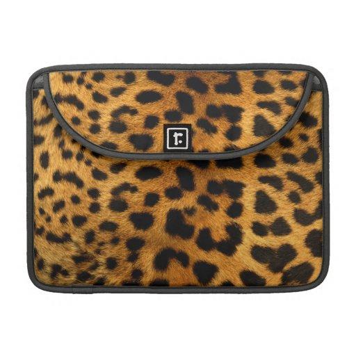 Leopard Body Fur Skin Case Cover MacBook Pro Sleeve