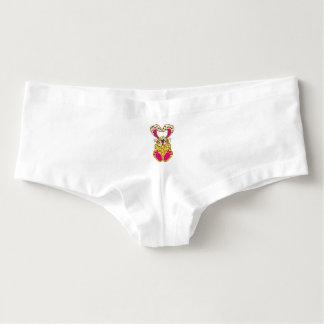 Leopard bunny hot shorts