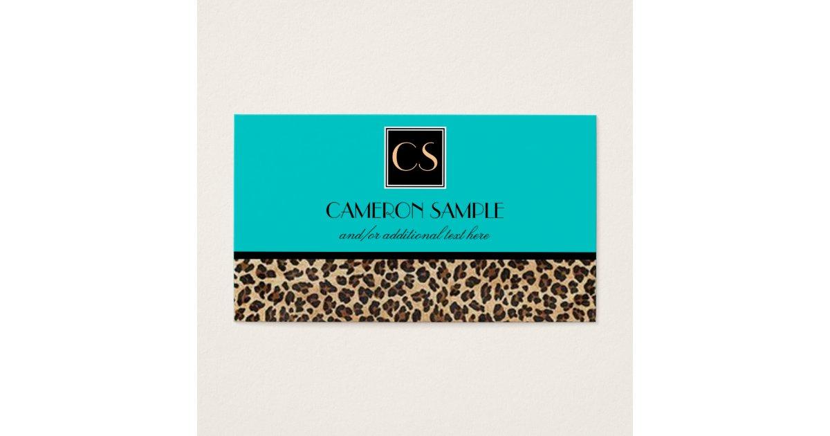 Leopard Business Card | Zazzle.com