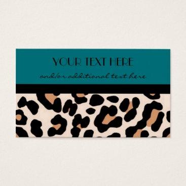 cami7669 Leopard Business Card
