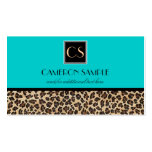 Leopard Business Card Templates