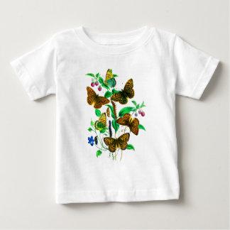 Leopard Butterflies and Red Raspberries T-shirt