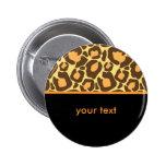 Leopard Button